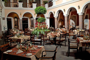 Restaurant im Hotel Patio Andaluz