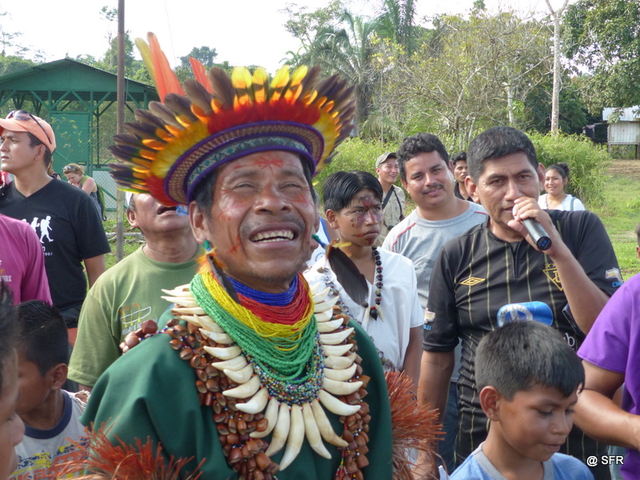 Don Olmedo Shaman in Ecuador