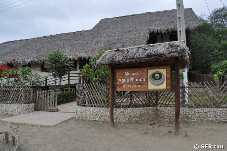 Museum Agua Blanca im National Machalilla in Ecuador