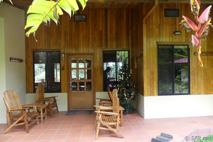 Wild Sumaco Restaurant im Nationalpark Sumaco in Ecuador