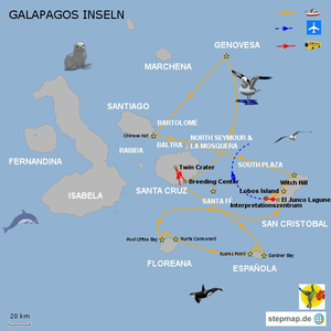 Galapagos Majestic, 8 Tage A