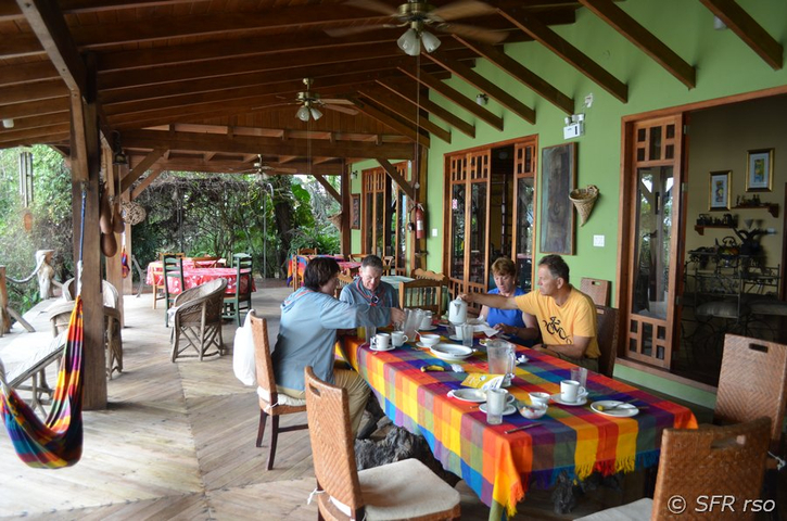 Restaurant am Pazifik in Ecuador