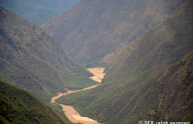 Canyon Chicamocha Kolumbien