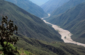 Chicamocha Canyon Kolumbien