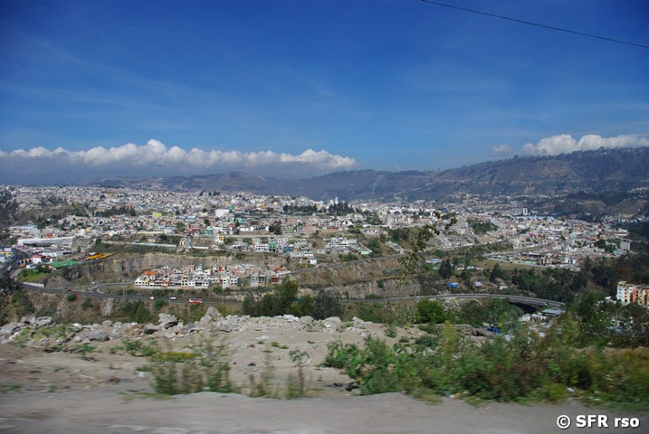 Ambato Talkessel in Ecuador