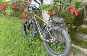 Bike in Mindo