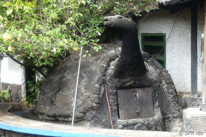 Backofen in Campo Duro, Galapagos