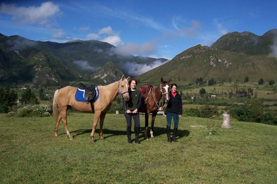 Green Horse Ranch Reiten Ecuador
