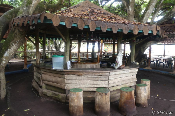 Bar in Campo Duro, Galapagos