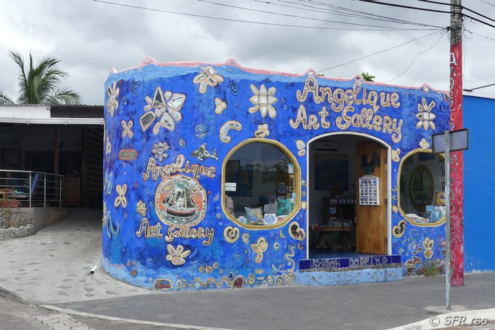 Art Gallery in Puerto Ayora, Galapagos